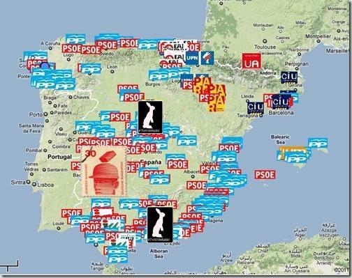 mapa corrupción España