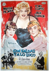 Con faldas y a lo loco Billy Wilder