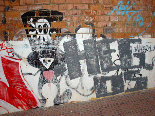 #yo_rayo calaca #graffiti hegos #streetart