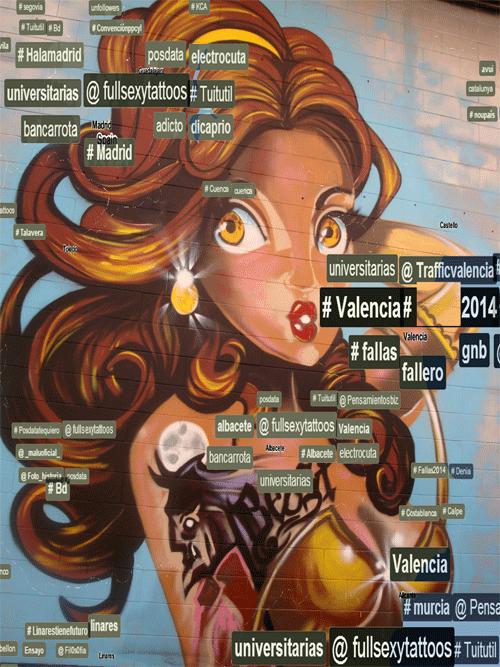 #yo_rayo @fullsexytattoos #graffiti #streetart